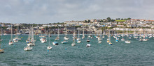 Panoramic View Of Falmouth Har...