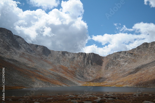 Foto op Aluminium Grijze traf. Mount Evans Summit Lake, Colorado