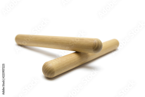 Foto Claves percussion musical instrument