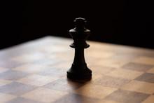 Jeu D'échecs Roi Damier Noir