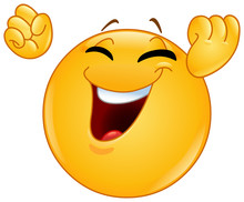 Winning Gesture Emoticon
