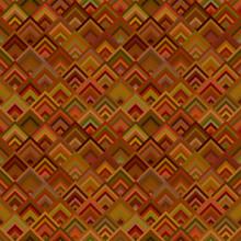 Brown Geometrical Seamless Dia...