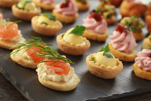 Mixed Canape Selection Platter