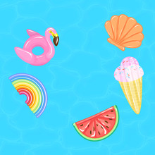 Flamingo, Rainbow, Watermelon,...