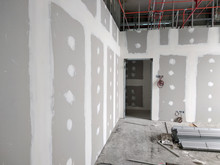 Drywall Installation Work In P...