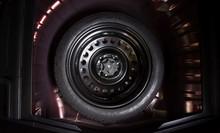 Spare Wheel In A Car, Automoti...