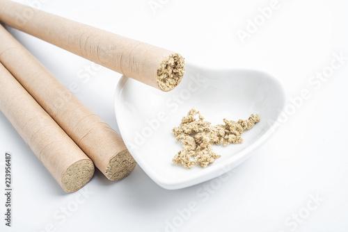 Chinese medicine moxibustion Canvas-taulu