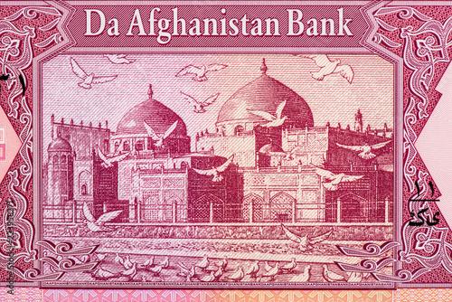 Photo afghani bank note