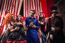 Circus Troupe From Freak Show ...