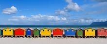 Muizenberg South Africa Rainbow