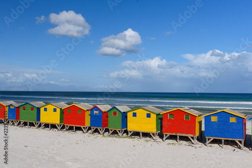 Valokuva  Muizenberg South Africa Rainbow
