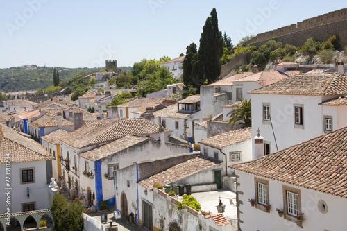 El pintoresco pueblo portugués de Óbidos
