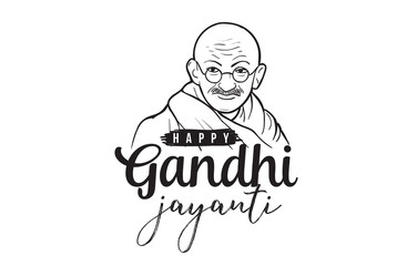 Mahatma Gandhi Jayanti - Birthday. 2nd of October.