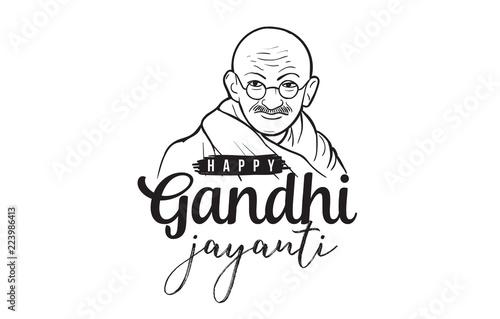 Mahatma Gandhi Jayanti - Birthday. 2nd of October.