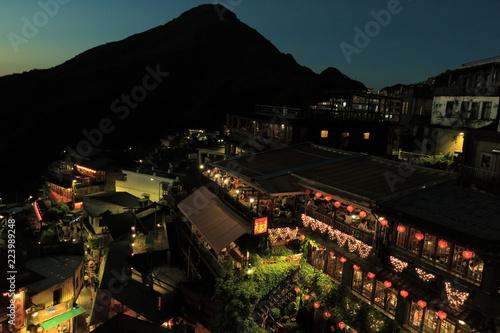Fotografía  台湾九份の夜景