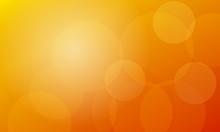 Year Old Orange Bokeh Background