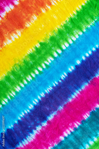 Photo tie dye pattern abstract background.