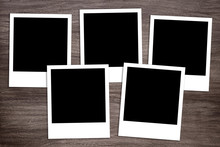 Group Of Five Blank Instant Ph...