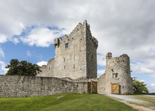 Ross Castle On The Edge Of Lough Leane In Killarney National Park, County Kerry, Ireland