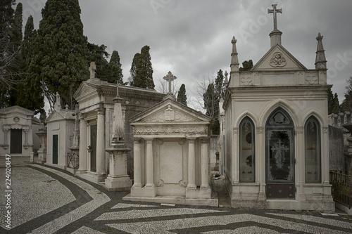 Keuken foto achterwand Begraafplaats Lisbon historic cemetery