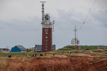 Helgoland, Germany Panorama View Lighthouse And Coast