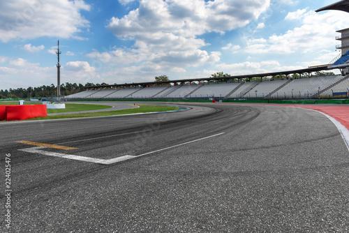 Foto op Aluminium Motorsport Rennstrecke