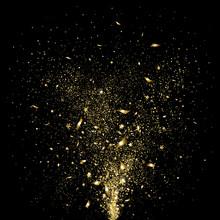 Festive Gold Confetti