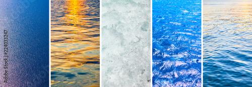 Obraz Water of seas and oceans - fototapety do salonu