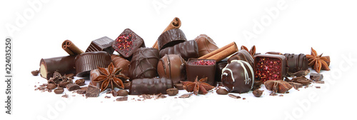 Obraz na plátně Chocolats de Noël