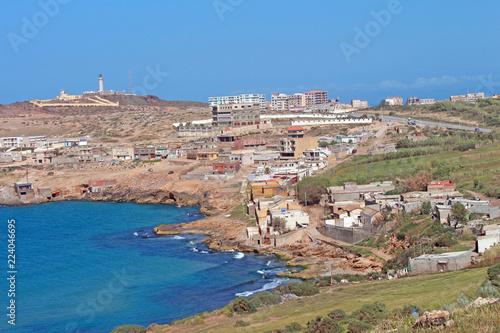 Algérie, la Corniche Oranaise, la Madrague