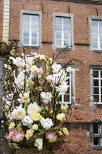 Autumn Floral Arrangement At A...