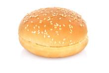 Hamburger Bun Isolated