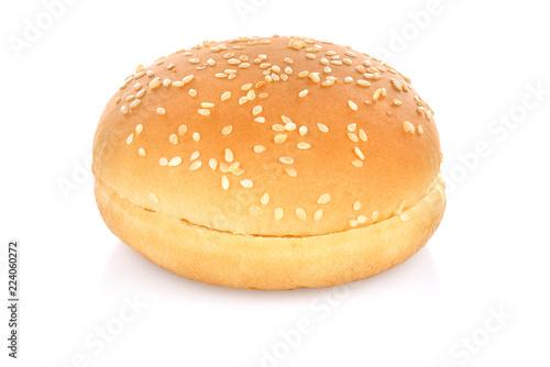 Fototapeta Hamburger bun isolated obraz