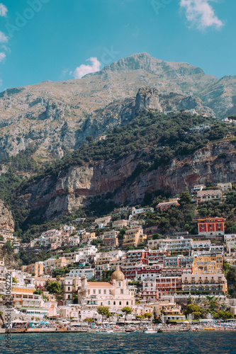 Foto op Canvas Mediterraans Europa Positano, Campania, Italy.