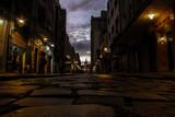 Fototapeta Uliczki - street at night