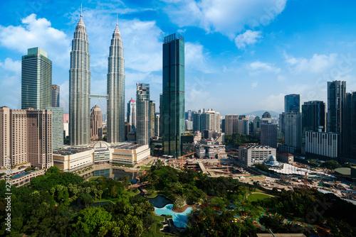 Foto op Aluminium Kuala Lumpur Kuala lumpur city skyline, Malaysia