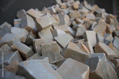 Fototapety, obrazy: Brick on the Street