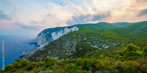 фотография Kampi, the place for the most beautiful sunset in Zakynthos island