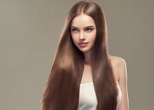 Beautiful Long Hair Smooth Wom...