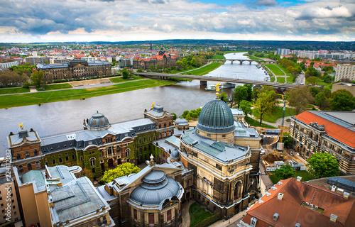 Foto op Plexiglas Europese Plekken The amazing city of Dresden in Germany. European historical center and splendor.
