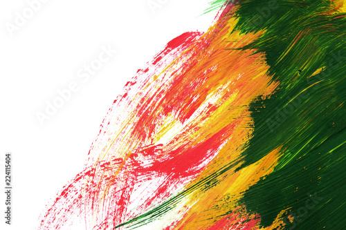Valokuva  Colorful brush strokes