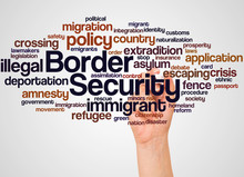Border Security Word Cloud And...