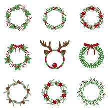 Christmas Decoration Wreath Se...
