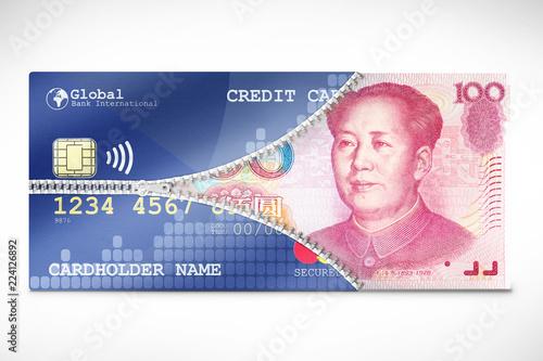 Money Credit Conversion Tapéta, Fotótapéta