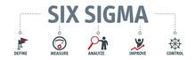 Lean Six Sigma Concept Vector ...