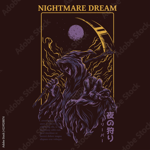 Nightmare Dream Wallpaper Mural
