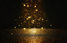 Glitter Vintage Lights Backgro...