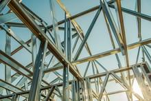 Building Steel Skeleton Frame