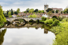 Aylesford, Maidstone, Kent And The River Medway