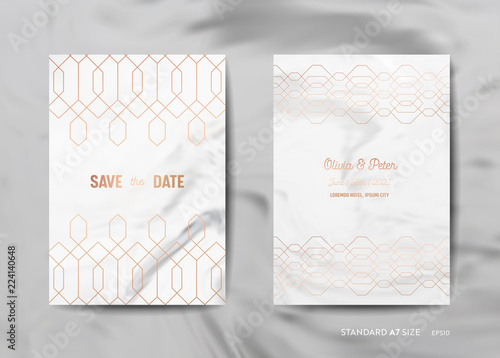 63464d5796e58 Wedding Invitation Cards Collection. Save the Date, RSVP with trendy ...
